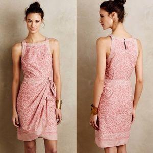 HD IN PARIS Anthro 'Margate' Midi Dress Pink